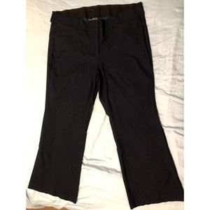 Dark Navy The Allie Boot-cut Trouser, 22 Short
